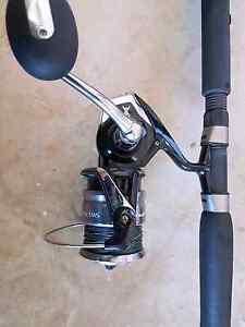 Fishing rod and reel Dakabin Pine Rivers Area Preview