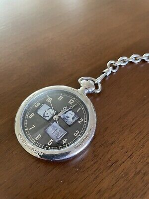 "Disney Limited Edition ""The Man, The Mouse, The Millennium"" Fossil Pocket Watch"