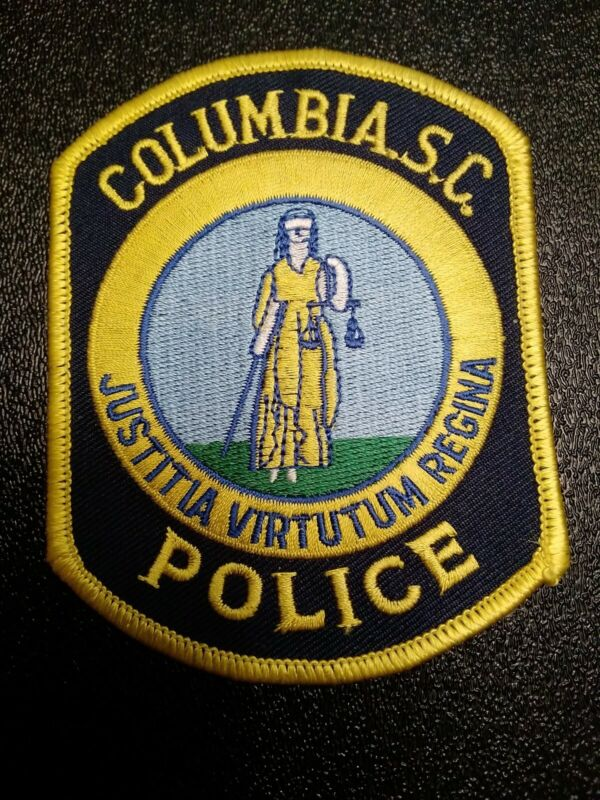 Columbia S.C. South Carolina Police Shoulder Patch LAW ENFORCEMENT ORIGINAL