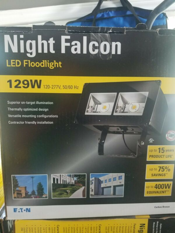 EATON NFFLD-C40-T Night Falcon 129W LED Floodlight