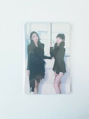 """MONTHLY GIRL LOONA Yves&Chuu Photocard - Official Repackage """"X X"""" Limited B Ver"""