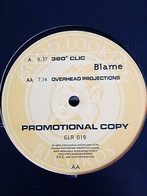 BLAME - 360° CLIC / OVERHEAD PROJECTIONS - GOOD LOOKING - RARE LTJ BUKEM