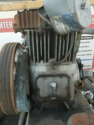 Good Used Military Surplus Quincy Air Compressor Model 340-32