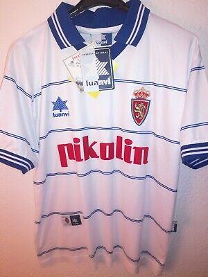 REAL ZARAGOZA 1999-2000 BNWT Pikolin camiseta shirt trikot maillot maglia luanvi
