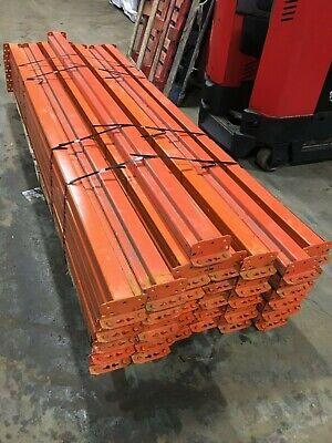 108 Teardrop Style Pallet Rack Beams 4.25 X 108 Wstd. Step 2000 Available