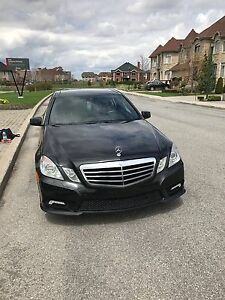 2010 Mercedes Benz E350 4matic ( cleannnn..!!)