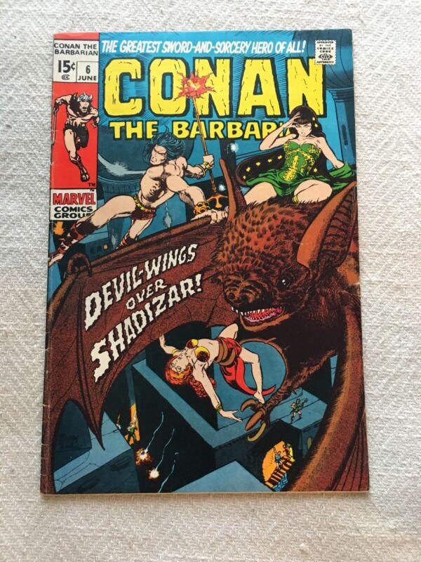 Conan the Barbarian #59 FN 1976 Stock Image