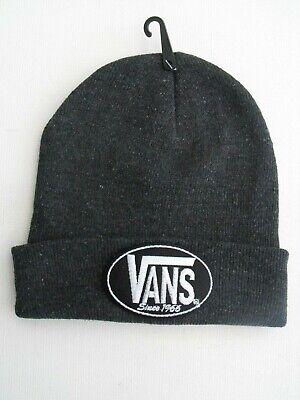 "A New  HipHop/Cool Skateboard Beanie HAT + ""Van since 1966""  Embroidered Patch"