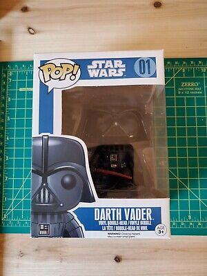 Funko Pop Star Wars Darth Vader 01 blue box