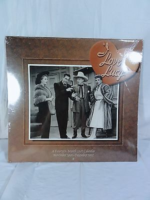 """I Love Lucy """"2002 Year 14 Month Calendar""""  -  Must For Any Collection"""