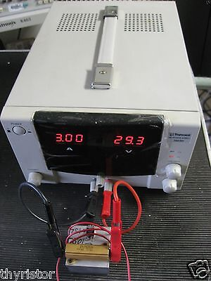 Topward 3603d Lab Power Supply Tested 0-30v 0-3a 90wt Constant Current Or Voltag