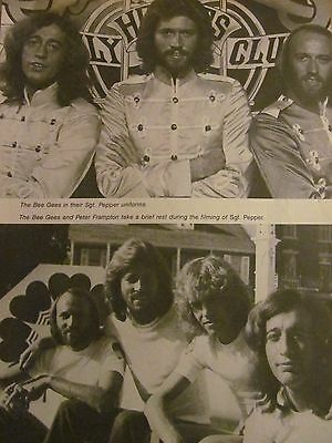 The Bee Gees, Full Page Vintage Pinup