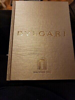 BVLGARI - BULGARI NEW 2016 HARD COVER FULL COLOR JEWELRY BOOK PRINTED IN ITALY