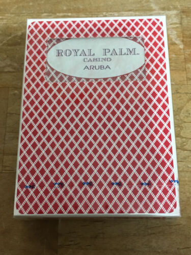 Vintage Bee ROYAL PALM Casino ARUBA Playing Cards 1 Deck