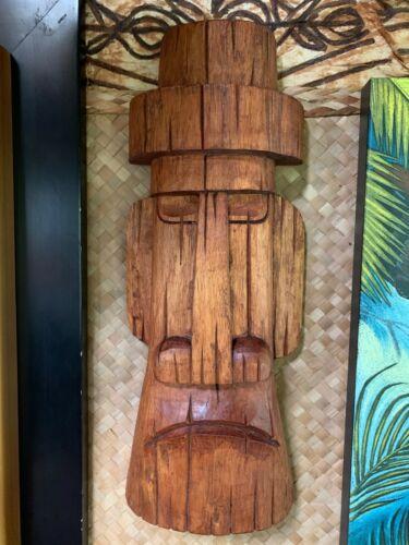 New Moai Hat Easter Island Tiki Mask by Smokin