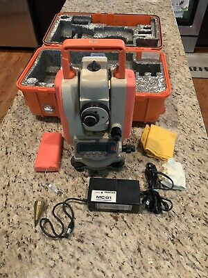 Pentax Pcs-215 Total Station With Charger And Case.