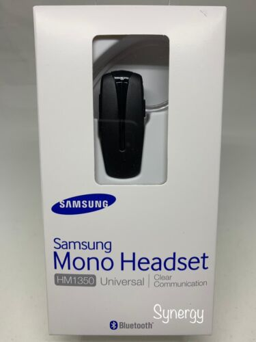 a079f8bcbf3 Samsung HM1350 Universal Bluetooth Headset Hands Free Black NEW for USD  18.99 in Miami, Florida - FinderONE