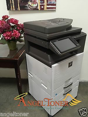 Sharp Mx 3140n Mfp Color Laser Copier Printer Scanner A3 3140
