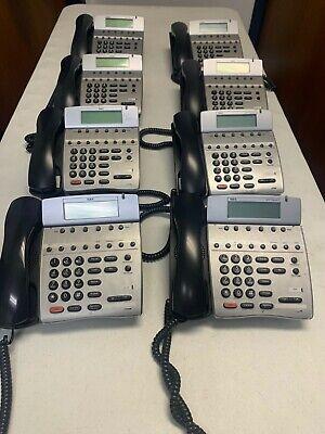 Lot Of 8 Nec Dtr 8d-2 Phones - Nec 780040