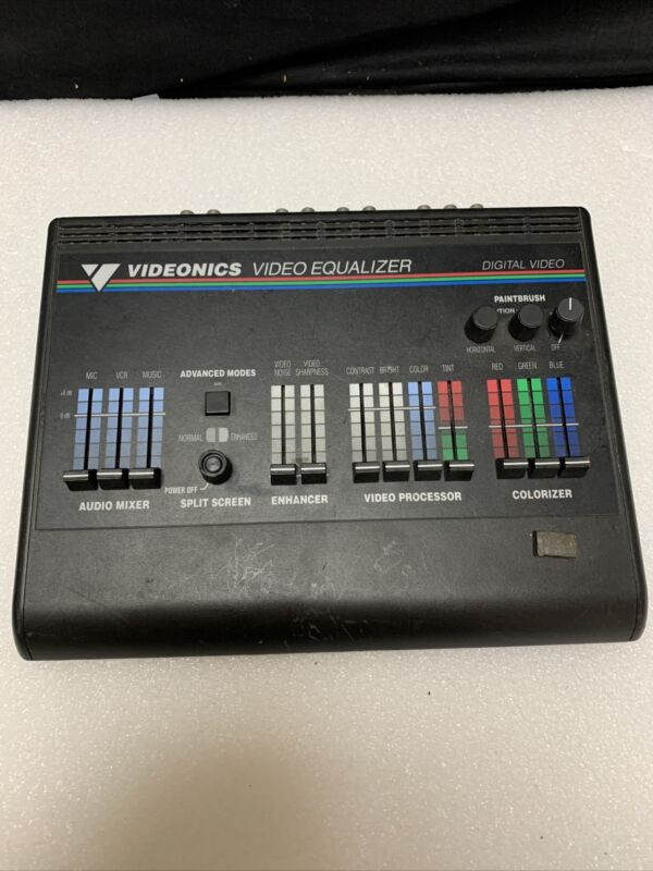 Vtg Videonics Video Equalizer Model VE-1 NTSC G929