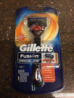 1 Gillette Fusion Proglide Flexball Manual Razor handle Cartridge Refill Shaver