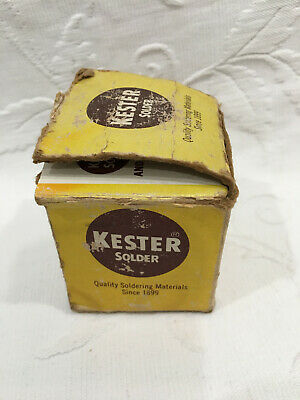 Vintage Kester Solder 44 Resin Core - Alloy 5s95t - Core 66 - Diameter .015