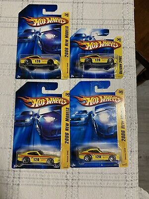 Hot Wheels Datsun 240Z LOT 2006 Error Short Card