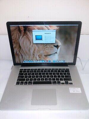 apple macbook pro 15 early 2011 core i7 8GB 500GB