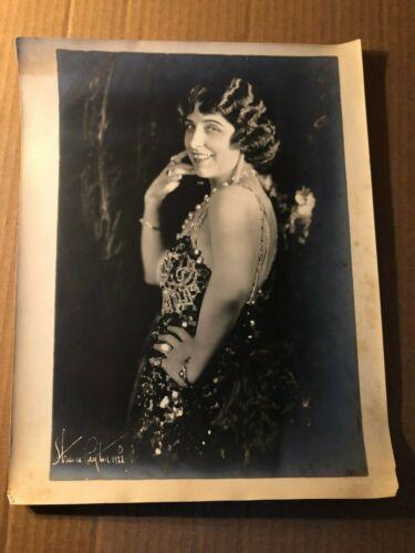 Geraldine Farrar Extremely Rare Very Early Oversize 10/13  Photo 1910s