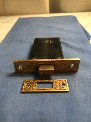 Antique Victorian Style Cast Brass Door Latch
