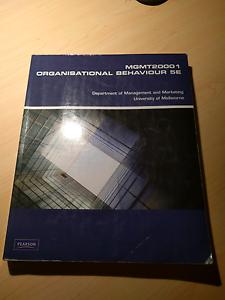 Organisational Behaviour 5E Ormond Glen Eira Area Preview
