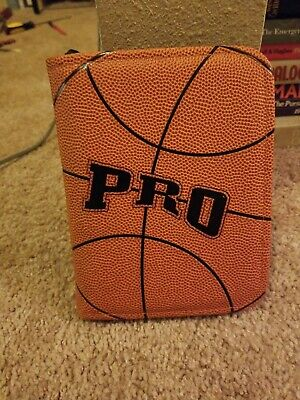 Classic 1.5 Rings Orange Basketball Leather Nba Game Plannerbinder Franklin