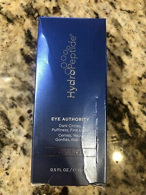 Hydropeptide Eye Authority Dark Circle Concentrate 0.5 oz - New in Box