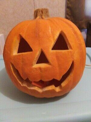 Vintage 1993 Trendmasters Jackolantern Halloween Foam Light Up Pumpkin