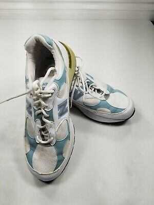 Vintage New Balance 992 USA Running Shoes Womans Size 11 White W992BW...