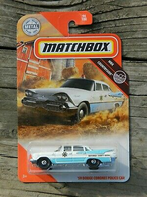 2020 Matchbox '59 Dodge Coronet Police Car MBX Countryside 94 /100 County patrol