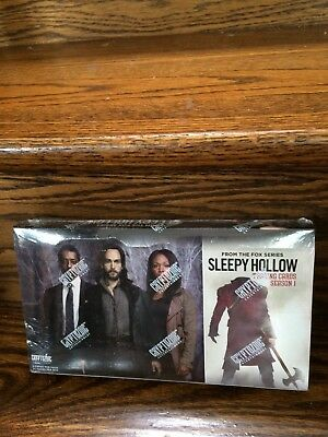 2015 Cryptozoic Sleepy Hollow Season 1 Factory SEALED Trading Card HOBBY Box  ](Sleepy Hollow Costumes)