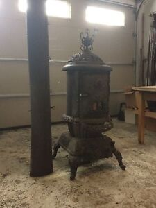Old victorian vintage fireplace