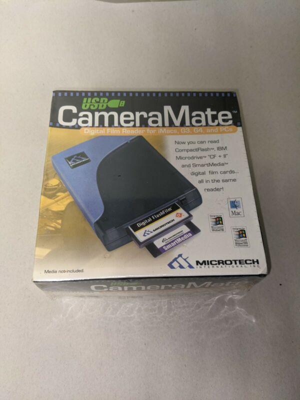 NOS SEALED USB CameraMate Digital Film Card Reader for Macs, G3, G4 and PC