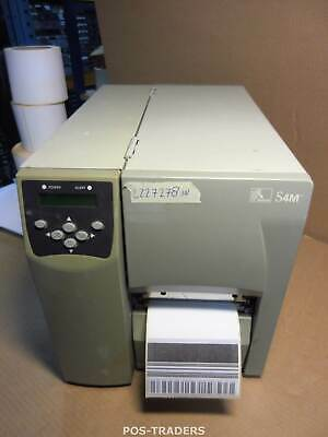 ZEBRA S4M S4M00-200E-0200T Thermo Label LAN + USB Drucker Printer - 2227278 INCH