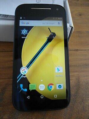 Motorola Moto E XT1524 - Black Smartphone (2nd Gen.) - excellent condition -
