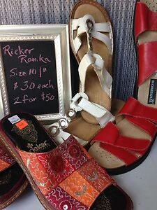 Rieker and Romika size 10 & 11