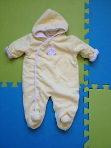 Fall or winter baby jacket suit 0-3 month