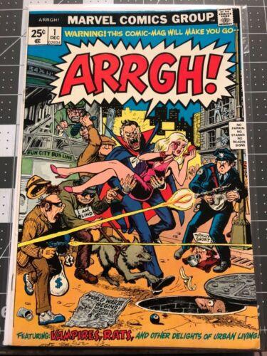 Arrgh! #1 . Marvel comics