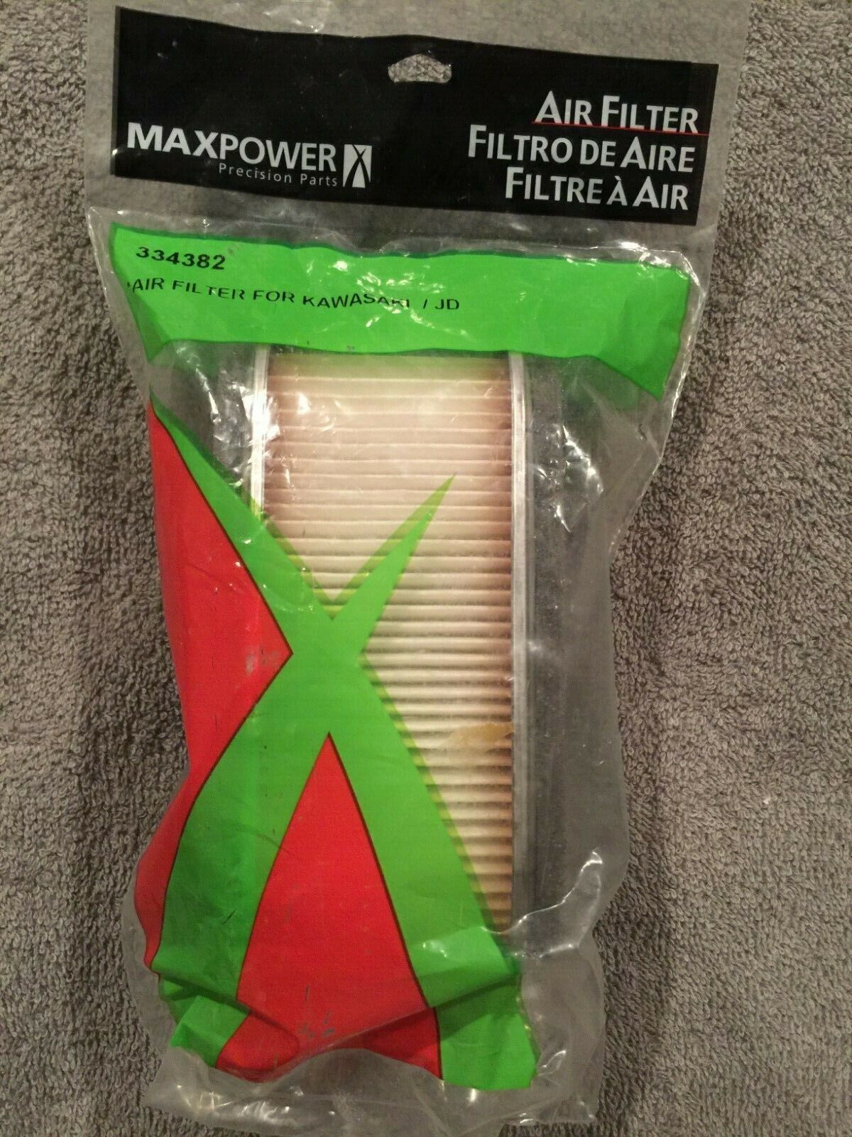 334382 air filter and pre cleaner