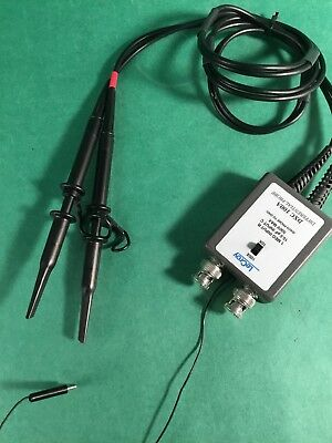 Lecroy Dxc100a Passive Differential Voltage Probe 10x100x 500v Max