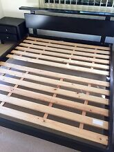 King Size Bed: Timber Slate - FREE mattress Highland Park Gold Coast City Preview