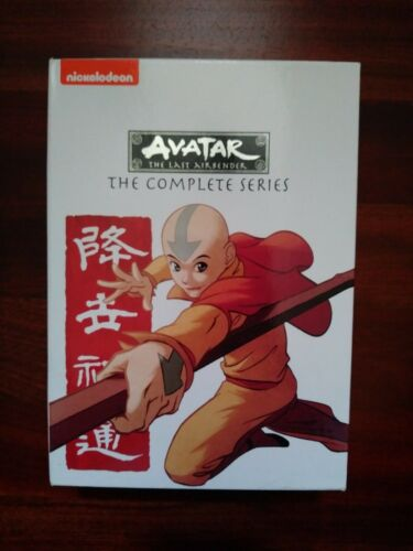 AVATAR: The Last Airbender: The Complete Series DVD 2015 16-Disc Set Nickelodeon