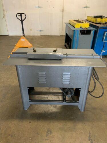 Used Lockformer 20 Gauge Super Speed Pittsburgh Machine with Acme Rolls