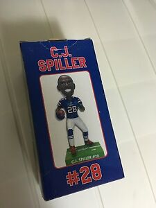 C J Spiller Buffalo Bills Bobblehead